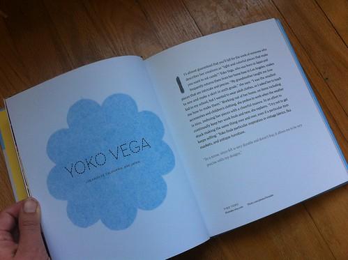 Yoko Vega's page in So Pretty! Felt