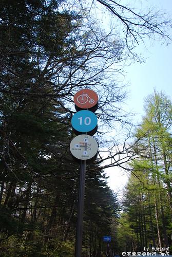 腳踏車指示牌
