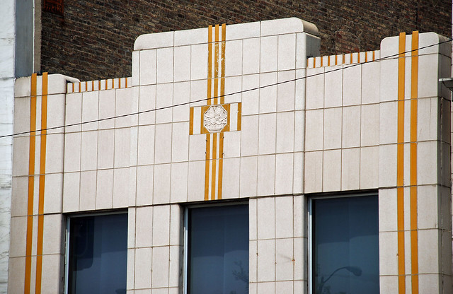 a little Art Deco on Noble Square