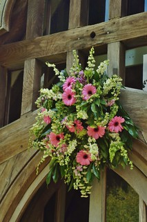 Church posy.
