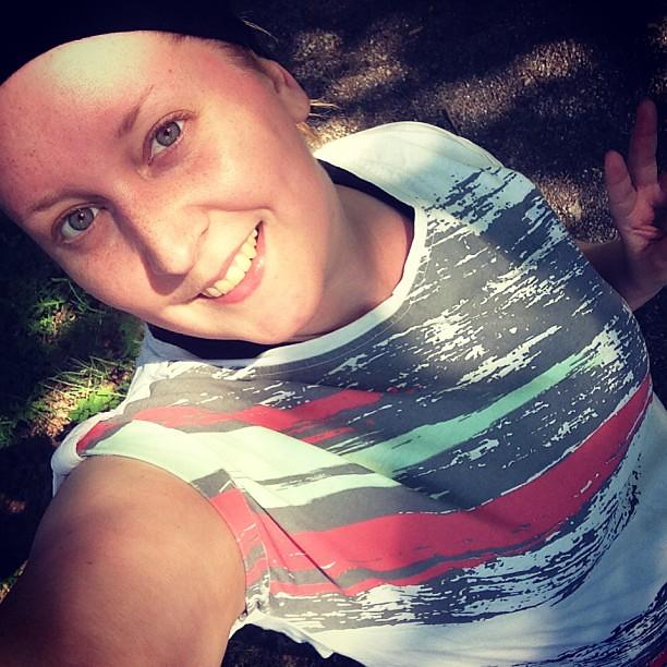 #MyVictoryFace i solen! Tunga ben men jag kom runt! #joggtweet #träning