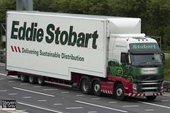 Volvo FH 6x2 Tractor - PX11 BZG - Kathleen Elizabeth - Eddie Stobart - M1 J10 Luton - Steven Gray - IMG_0166