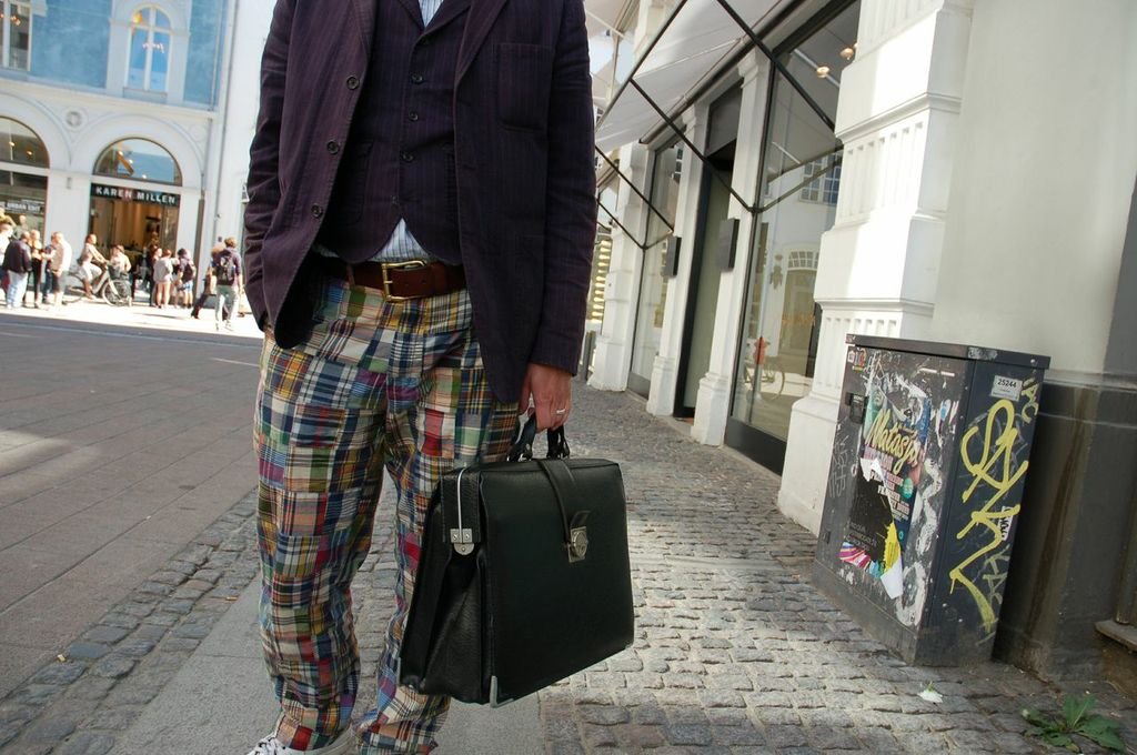 Ralph Lauren pants in Copenhagen