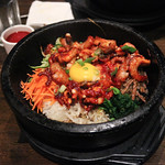 Octopus Bibimbap at Boka