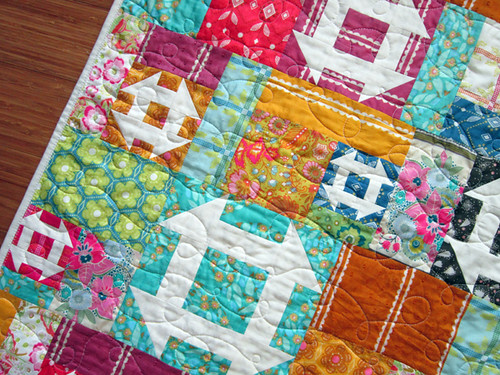 Pixie Churns baby quilt