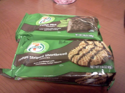 Accidentally vegan cookies at 7-11 by Amy_Keiko