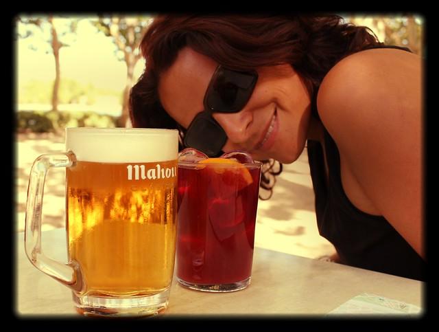 Bebidas do verão na Espanha