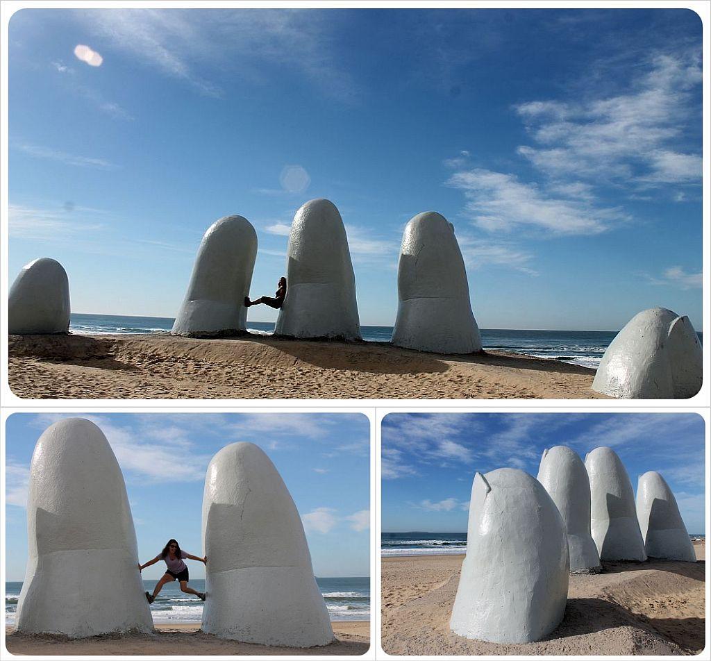 Punta Del Este mano Sculpture