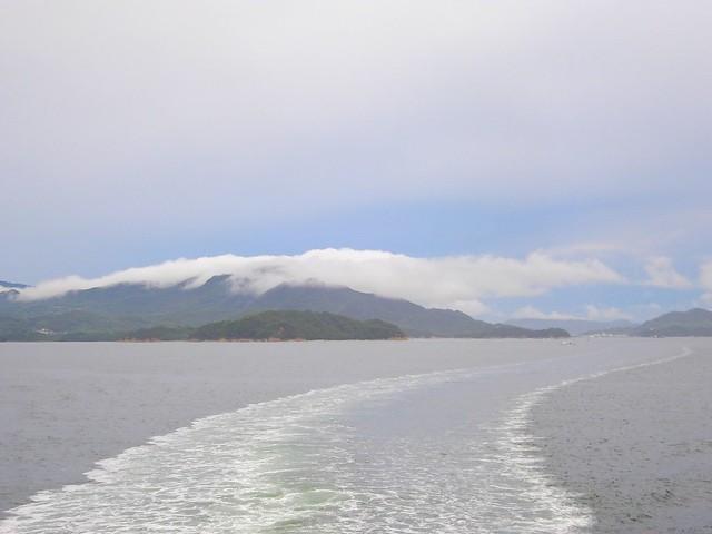 小豆島を後にする