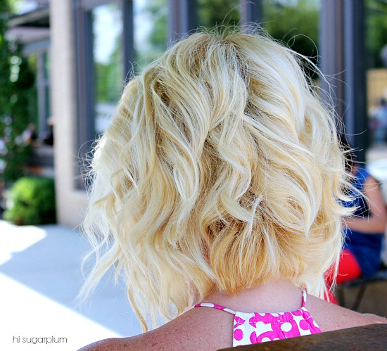 Hi Sugarplum | Angled Bob Haircut