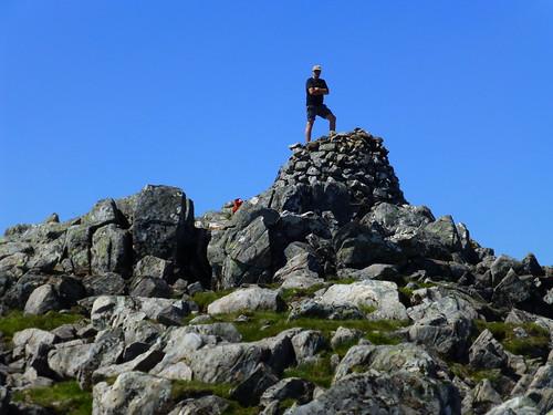 Graham on Sgurr na Ciste Duibhe Munro No1