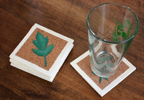 Diy Painted Cork Coasters Life At Cloverhill