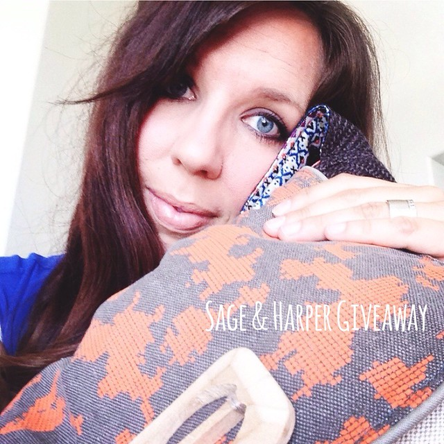 I am giving away a matching Sage & Harper bag to this one that I love so dearly. therhouse.com