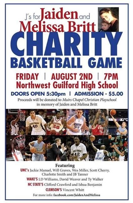 Jaiden & Melissa Britt ACC Charity Basketball Game