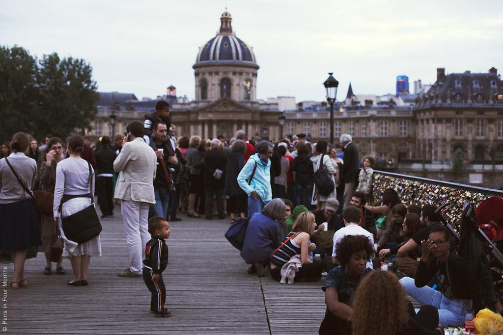 Evening in Paris