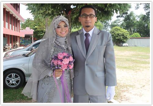 9567828314 6ce53ff467 Majlis kahwin Anwar Fikri tema kelabu dan ungu
