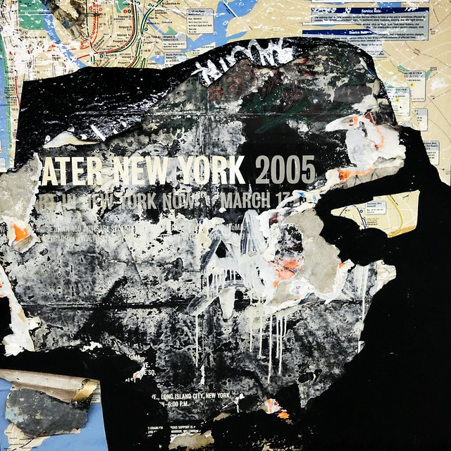 New York 2005 poster #walkingtoworktoday
