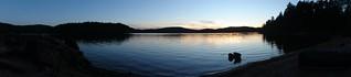 Booth Lake: Sunset