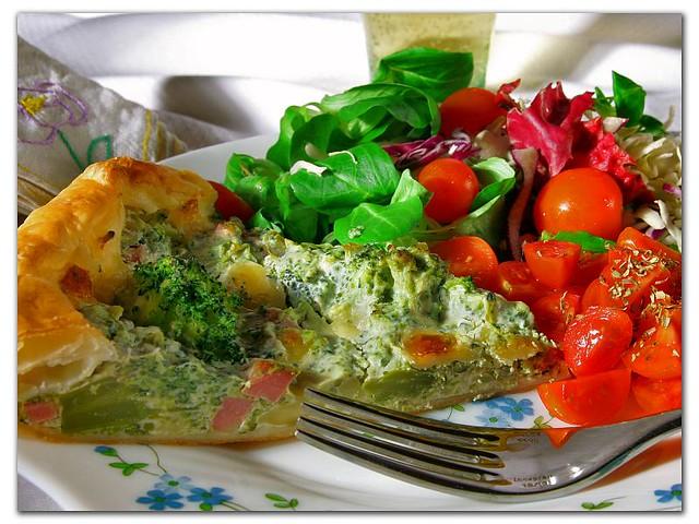 Torta Salata Bimby ai Broccoli