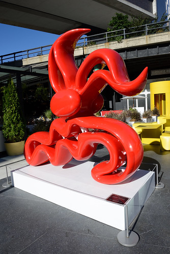 Kenny Scharf - Red Scary Guy