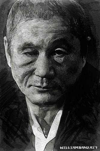 "TAKESHI ""BEAT"" KITANO by WilliamBanzai7/Colonel Flick"