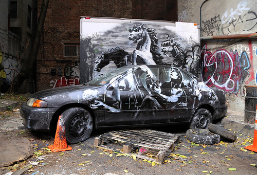 Banksy by carnagenyc