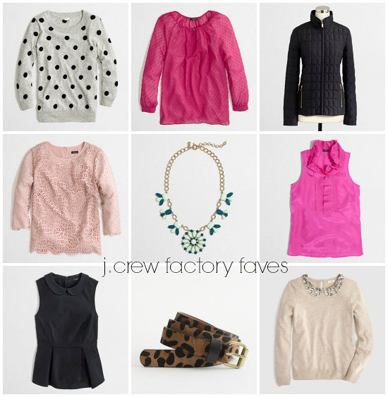 Hi Sugarplum | J.Crew Factory Sale Favorites
