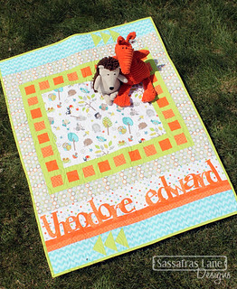 Lullaby Lane baby quilt