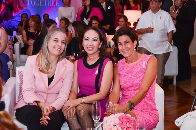 Sevrine Miahle, Anna Sobrepena, Patsy Zobel