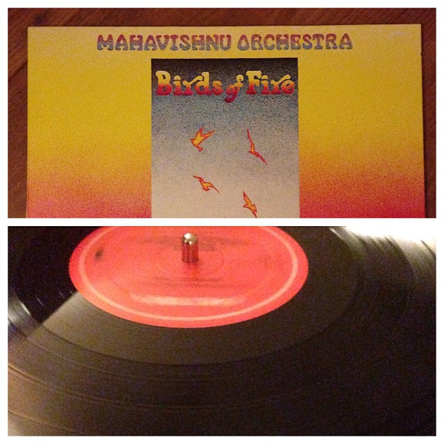 "031113_ #np ""Birds of Fire"" by Mahavishnu Orchestra #vinyl"