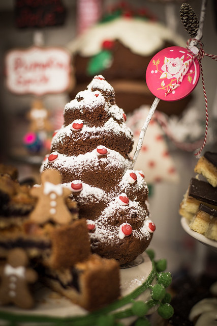 Chocolate Cake Christmas Tree