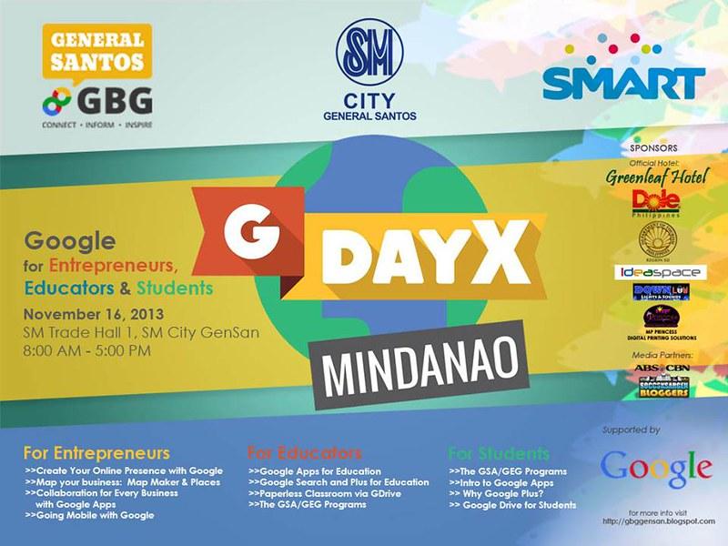 gDayX Mindanao, Google Southeast ASia