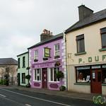 Louisburgh Village Street - County Mayo, Ireland