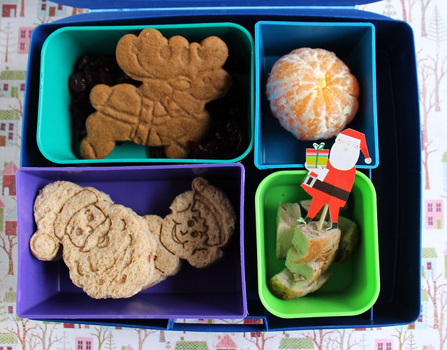 Big Kid Santa Laptop Lunches Bento #839