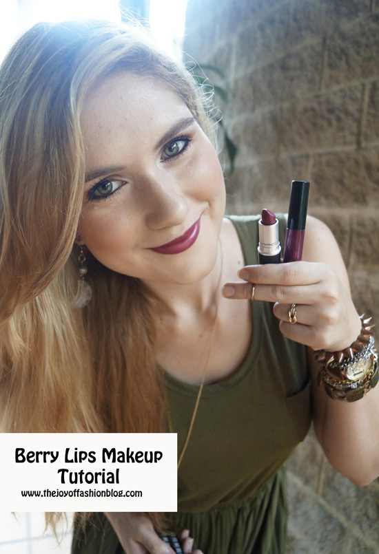 Berry Lips Fall Makeup Tutorial