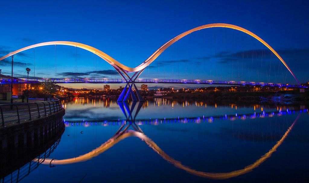 Stockton Infinity Bridge