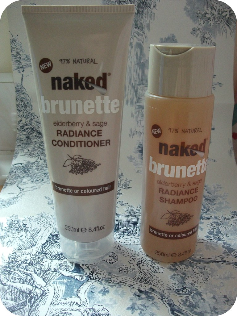 Naked Brunette Radiance Shampoo & Conditioner