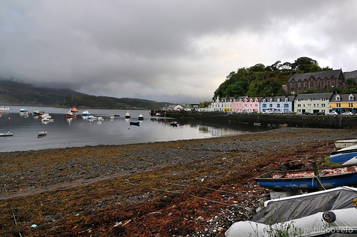 Portree harbour (Isle of Skye)