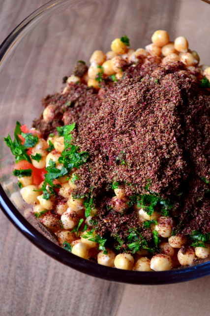 Chickpea Za'atar Salad Recipe (1)
