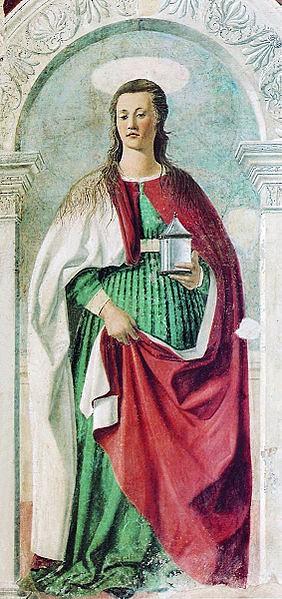 282px-Piero_dellla_Francesca_-_Maria_Maddalena_(Duomo_di_Arezzo)
