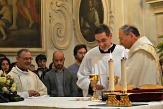 Noicattaro. Antonio Lattanzio verso il sacerdozio front