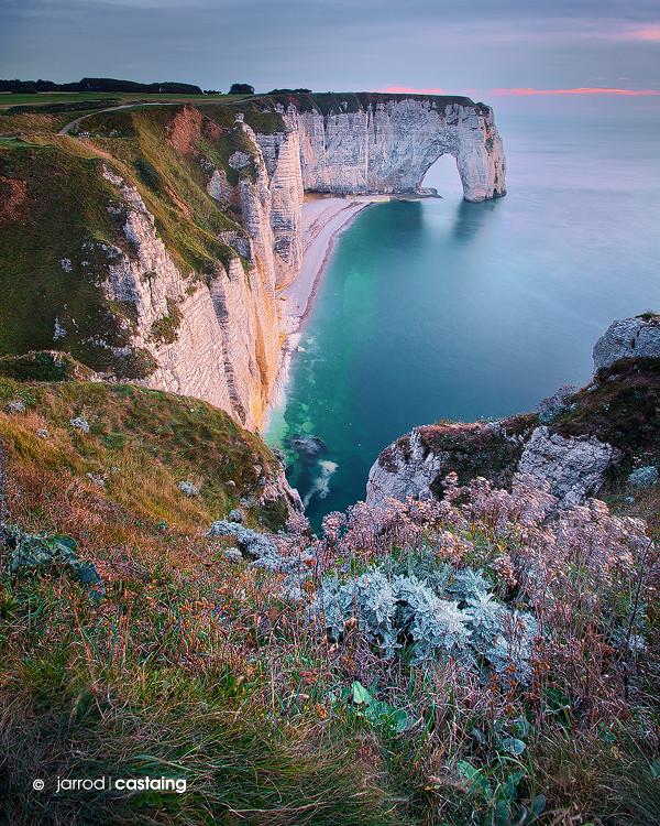 Cliffs of Etretat - Normandy - France