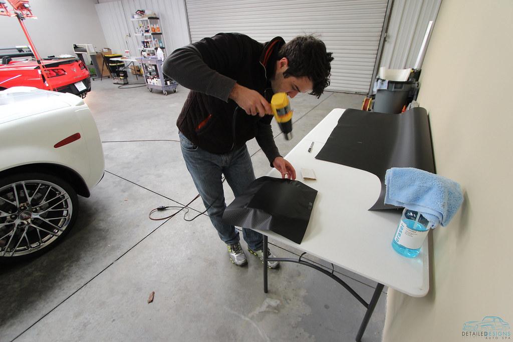 Carbon Fiber Wrap Detailed Designs Auto Spa Atlanta