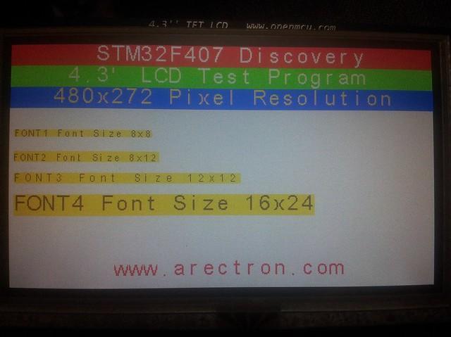 SSD1963 4.3″ TFT Kütüphanesi