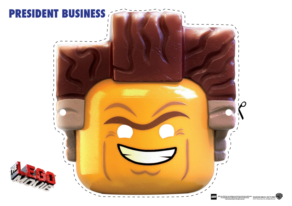 PRESIDENTBUSINESS mask