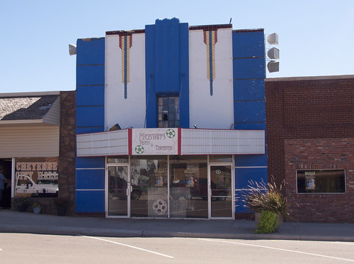 Merwin's Video & Theater, Cheyenne, Oklahoma - 2013