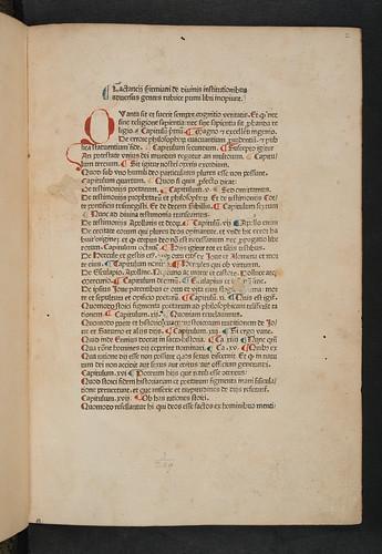 Title incipit in Lactantius, Lucius Coelius Firmianus: Opera