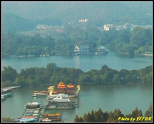 杭州 西湖 (其他景點) - 334 (從西湖十景之 雷峰塔上看 西湖十景之 蘇堤及西湖十景之 花江觀魚)