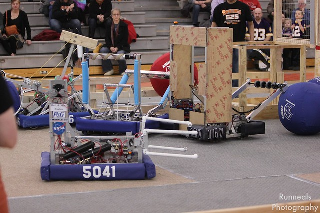 Robots at the Scrimmage