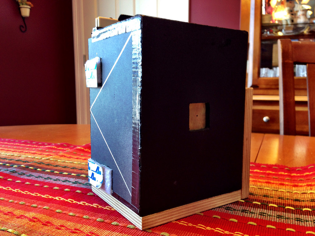 4x5 Pinhole.  Homemade fun.